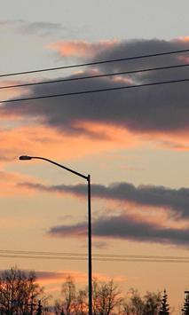 Evening City Sky Live Wallpape apk screenshot
