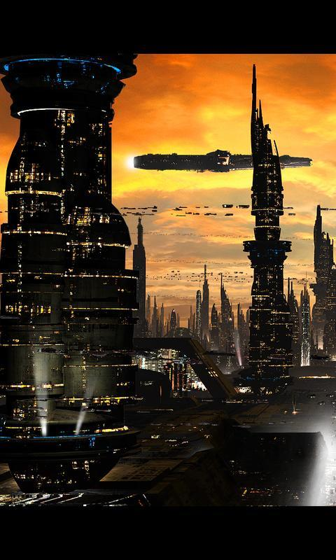 Futuristic City Live Wallpaper For Android Apk Download