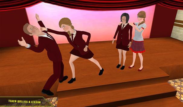 High School Girl Simulator 2018 Happy Family Games screenshot 11