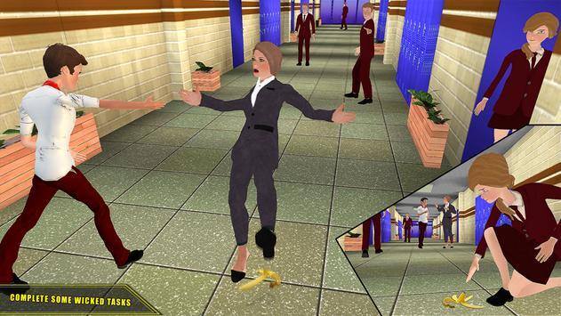 High School Girl Simulator 2018 Happy Family Games screenshot 2
