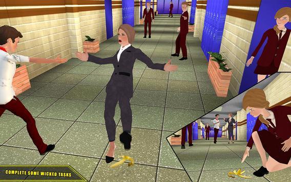 High School Girl Simulator 2018 Happy Family Games screenshot 6