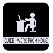 Guide : How to work from home icon
