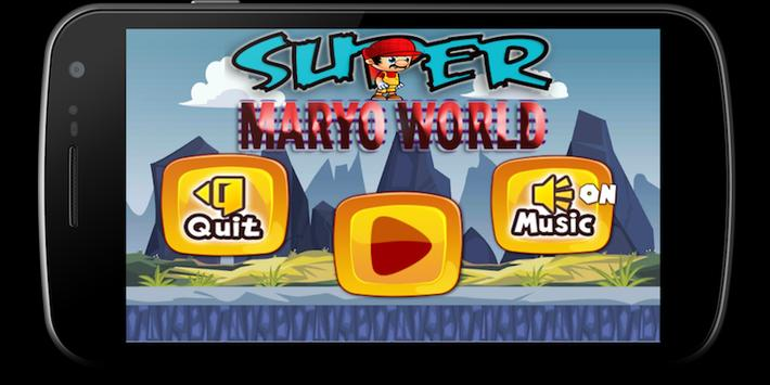 Super Run Maryo World 🍄 poster