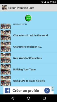 Guide for Bleach Paradise Lost screenshot 8