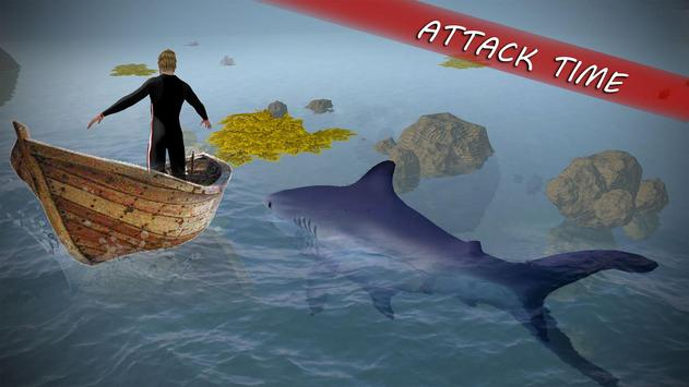 Underwater White Shark Simulator 3D apk screenshot