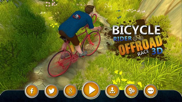 Bicycle Rider Offroad Race 3D poster