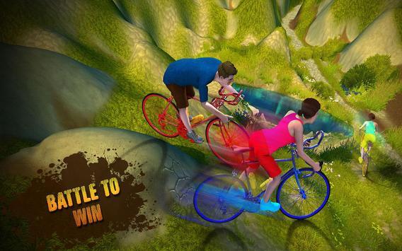 Bicycle Rider Offroad Race 3D apk screenshot
