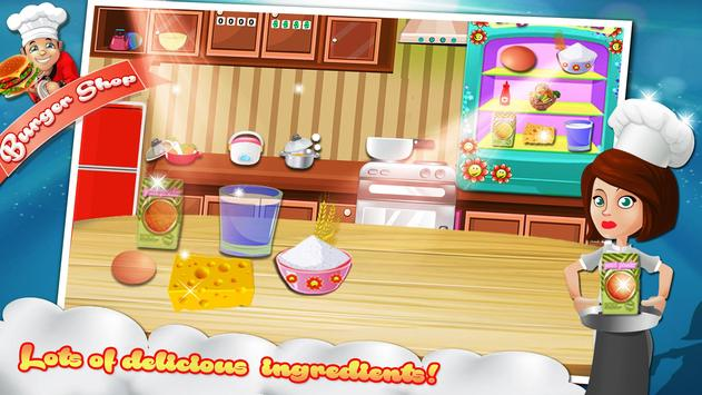Burger Maker : Cooking Games screenshot 3
