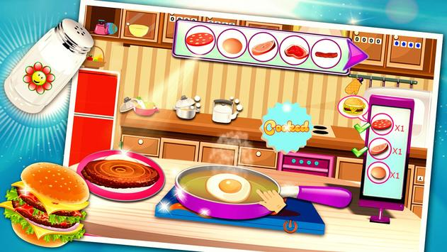Burger Maker : Cooking Games screenshot 1