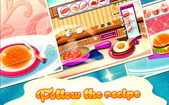 Burger Maker : Cooking Games screenshot 7