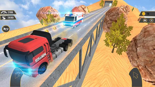 Cargo Truck Racing Action apk screenshot