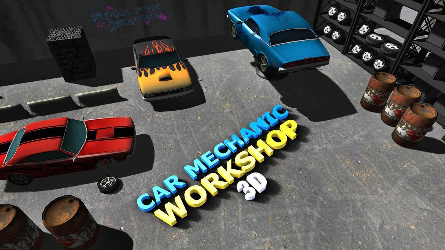 Auto Mechaniker Werkstatt 3D APK-Download - Kostenlos Simulation ...