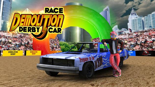 Demolition Derby Car Racing - Reckless Racing Free poster