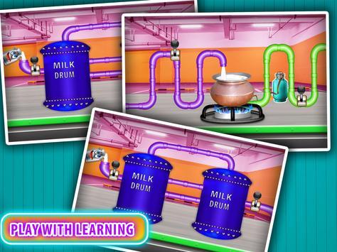 Real Dry Milk Factory Games screenshot 12