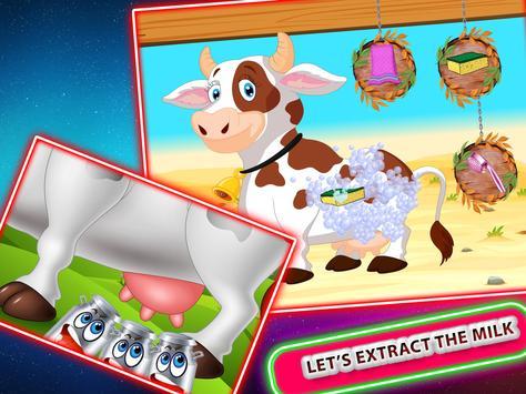 Real Dry Milk Factory Games screenshot 1