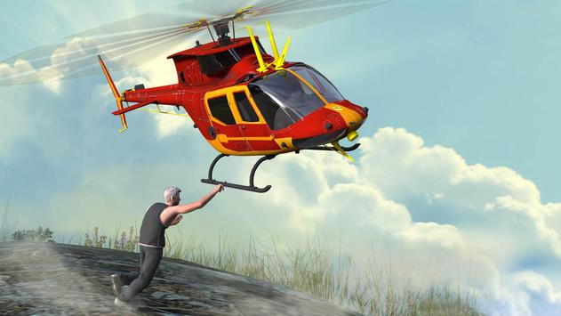 Helicopter Rescue Flight 3D poster