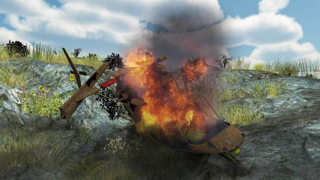 Helicopter Rescue Flight 3D screenshot 2