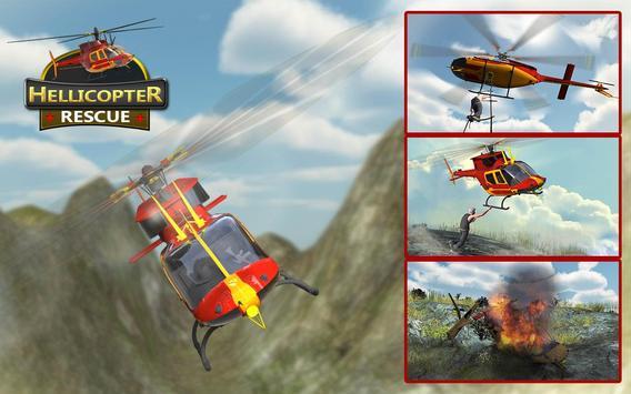 Helicopter Rescue Flight 3D apk screenshot