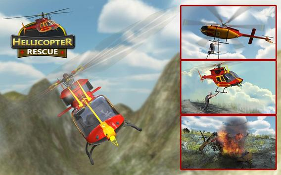 Helicopter Rescue Flight 3D screenshot 8