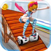 Hoverboard Highway Surfer icon