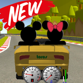 Subway Roadster Mickey Race icon