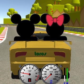 Subway Roadster Mickey Race screenshot 3