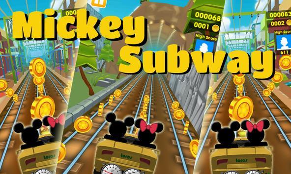 Subway Roadster Mickey Race screenshot 5
