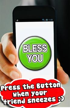 Bless You Button Funny Sound apk screenshot