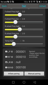 Xsafe  BLE TPMS X6 screenshot 2