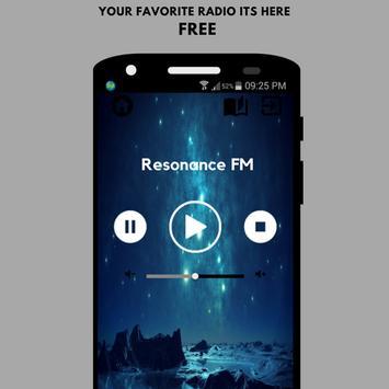 Resonance FM Radio App Player UK Free Online poster