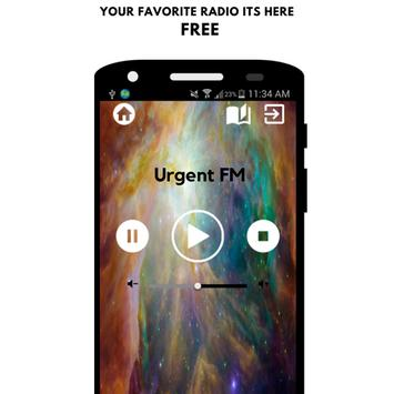 Urgent FM Belgique App Player Music Live Free poster