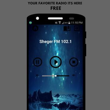 Sheger FM 102.1 poster