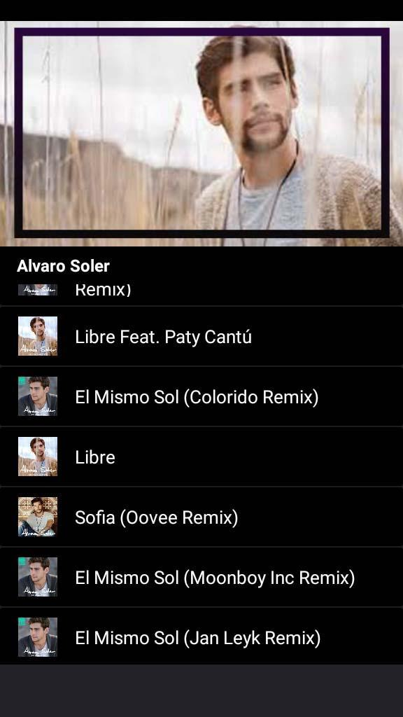 Alvaro Soler Sofia Songs And Lyrics For Android Apk Download
