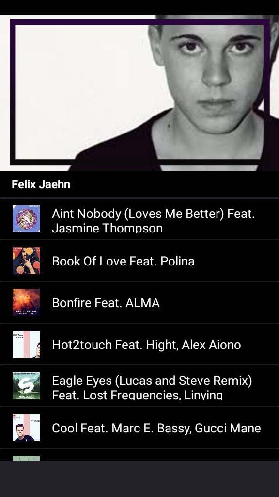 Felix Jaehn Ain T Nobody Songs And Lyrics For Android Apk Download hook:gucci mane i ain't really scared of nobody nobody nobody nobody nobody nobody i ain't backin' down for nobody nobody nobody nobody nobody nobody you got teardrops on your face with no bodies. felix jaehn ain t nobody songs and
