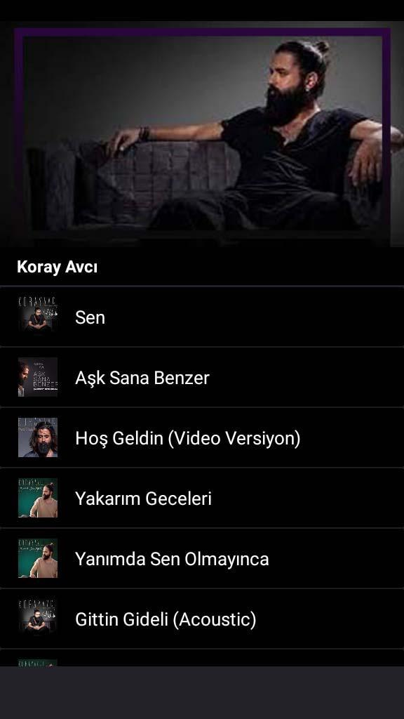 Koray Avci - Sen (All Song) for Android - APK Download