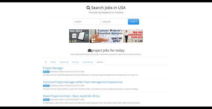 APP JOBSE : Jobs In The World screenshot 2