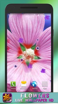 Flowers Live Wallpaper HD apk screenshot