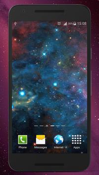 Galaxy Live Wallpaper HD apk screenshot