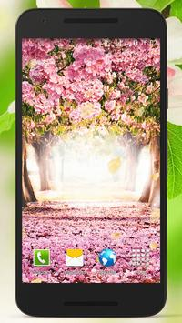 Spring Flowers Live Wallpaper poster