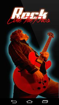 Rock Like The Pros Play Guitar poster