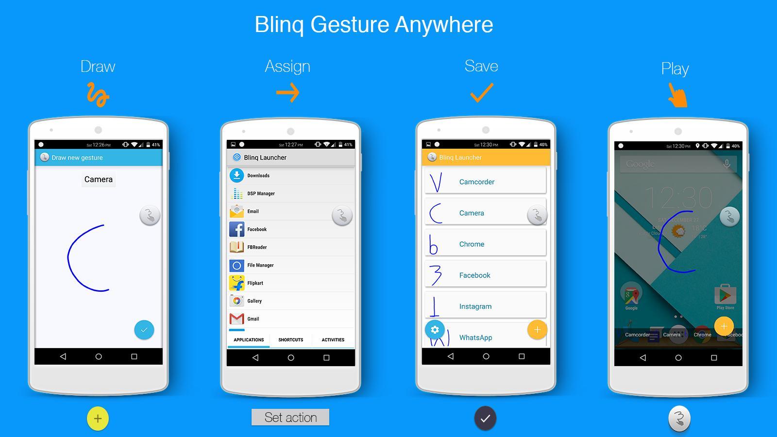 Blinq Lollipop Launcher for Android - APK Download