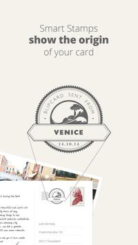 blipcard - real postcards apk screenshot