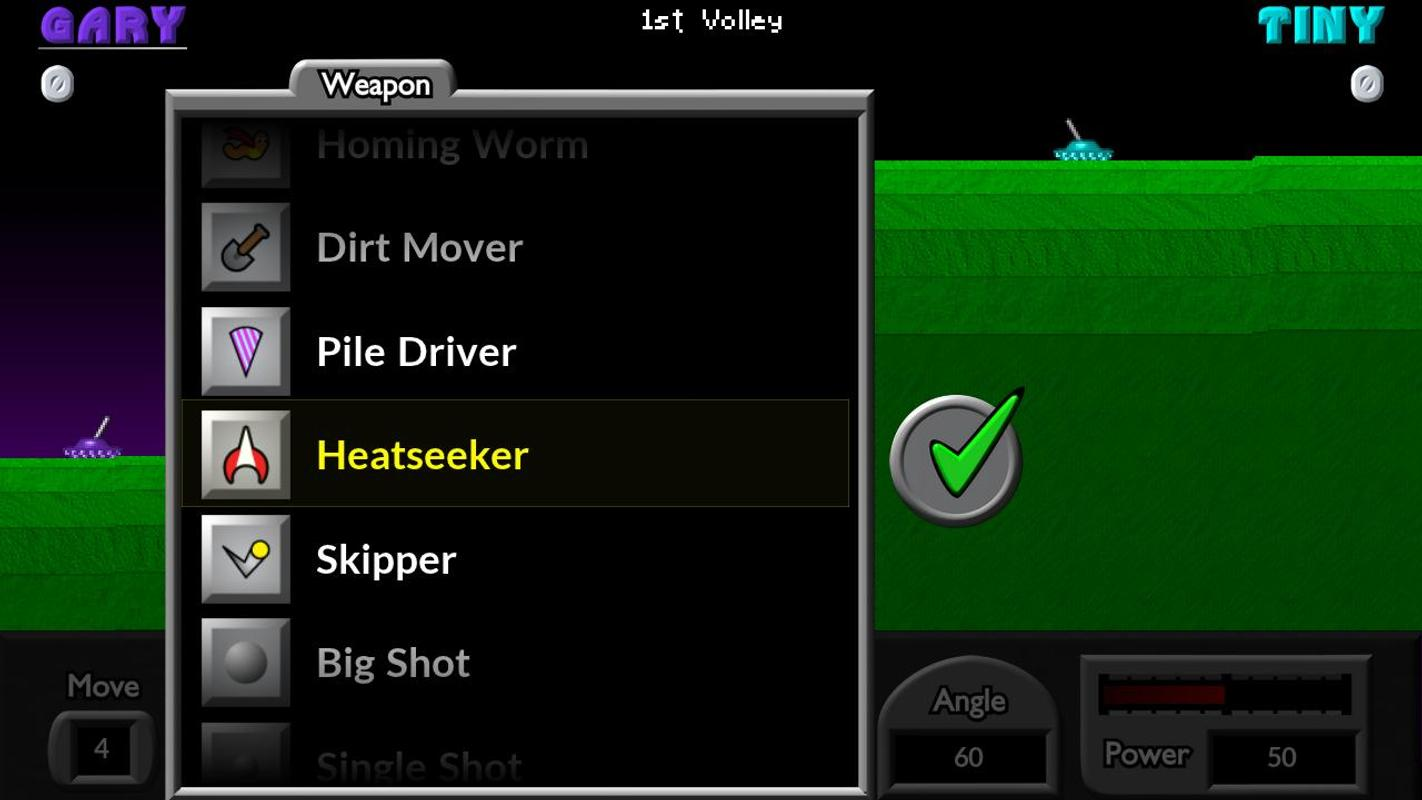 Pocket tanks Apk