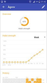 Habit Tracker apk screenshot