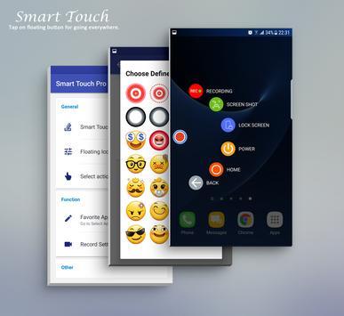 Smart Touch الملصق