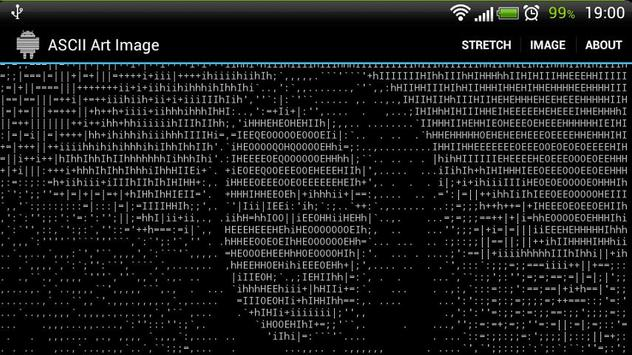 ASCII Art Image apk screenshot