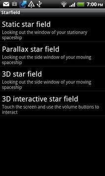 Starfield apk screenshot