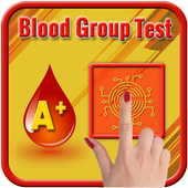 Blood Group Test Prank with Finger icon