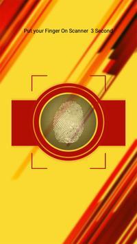 Blood Group Test Prank with Finger screenshot 2