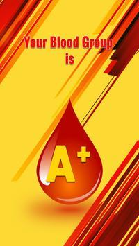Blood Group Test Prank with Finger screenshot 5